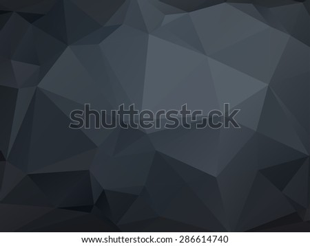 monochrome low poly geometrical