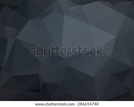 stock-vector-monochrome-low-poly-geometrical-background-dark-grey
