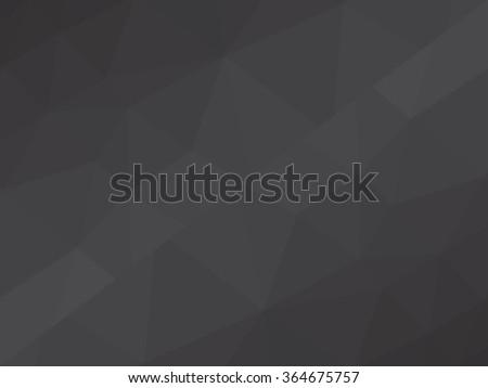 monochrome low poly geometrical