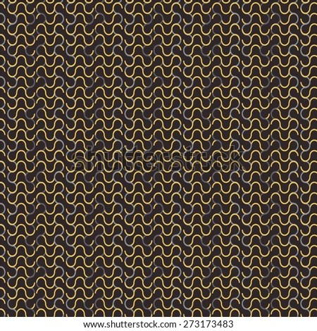 monochrome pattern chainmail