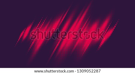 Monochrome printing raster. Abstract vector halftone background.