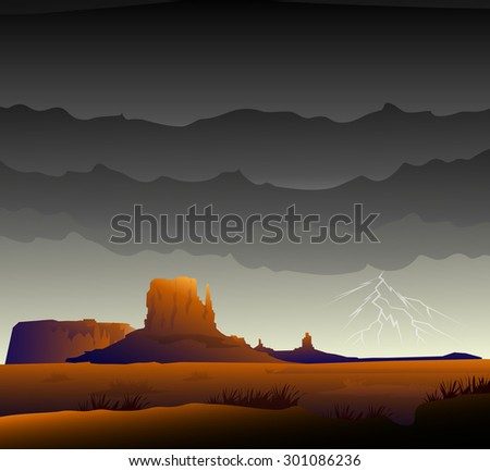 monsoon monument valley