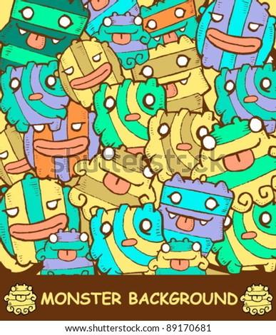 monster background