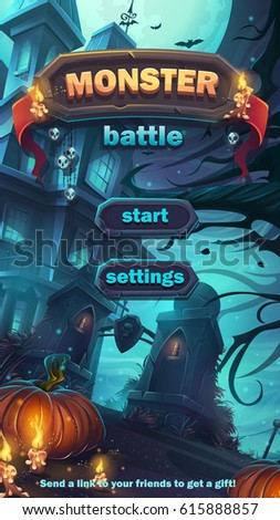 monster battle gui start