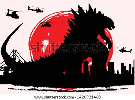 monster godzilla famous movie