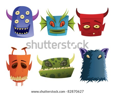Monster Icon Heads