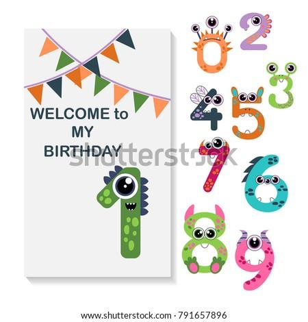 monster numbers birthday