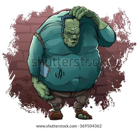 monster of dr frankenstein