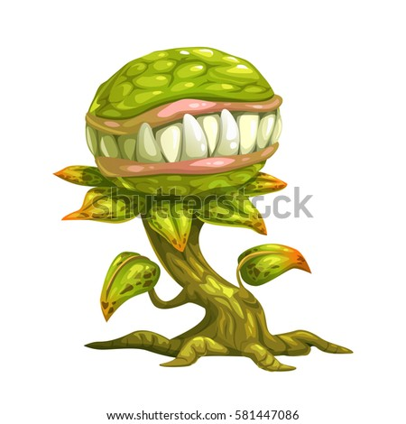 monster plant illustration
