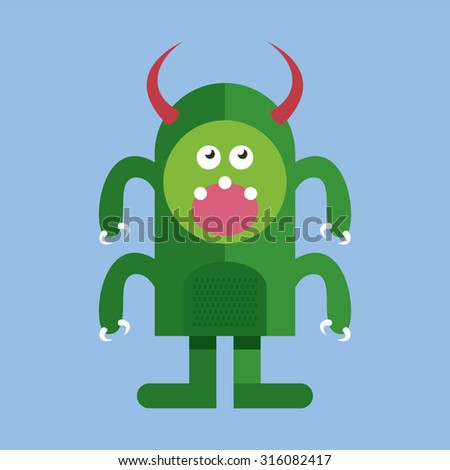 monster vector characters cute