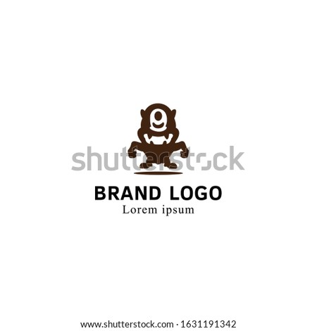 monster vector image of a