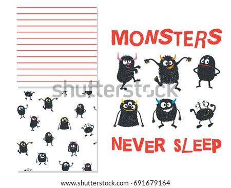 monsters never sleep surface