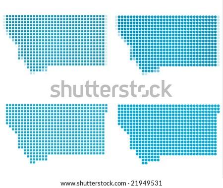 Montana State Usa Map Best Maps Usa Maps Images On - Montana usa map