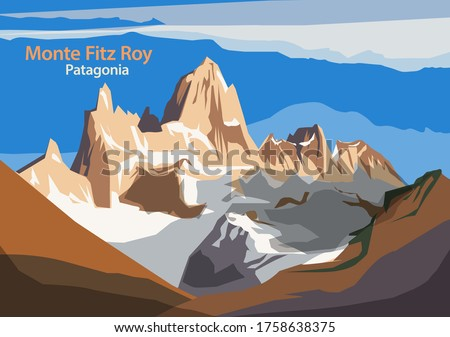 monte fitz roy is a mountain in