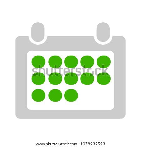 month calendar event icon ...