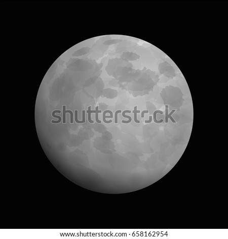 moon   artistic vector