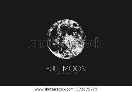 moon logo design creative moon