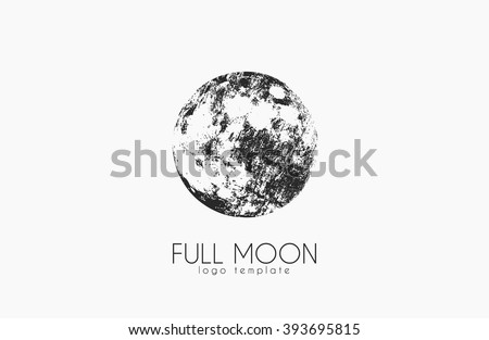 moon logo design creative moon