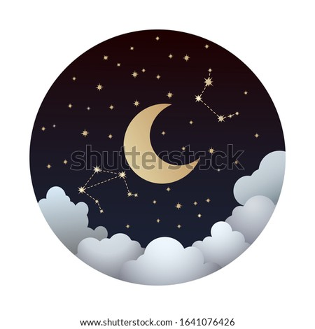 moon phase waning moon with