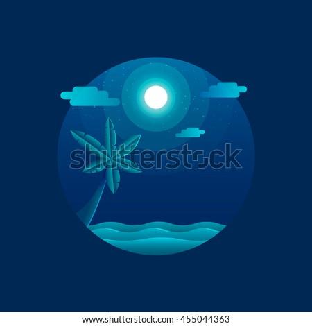moonlight beach flat