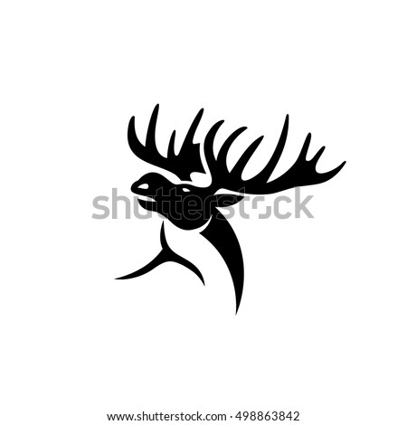 Moose - vector illustration
