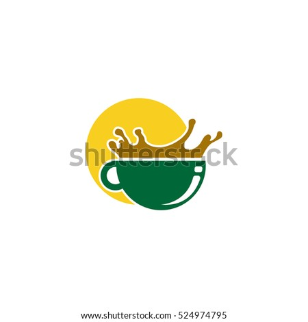 morning coffee logo design