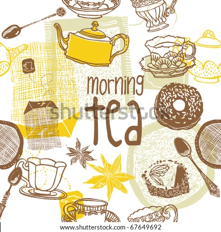 morning tea background