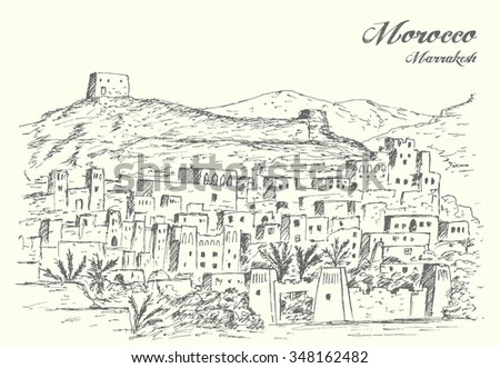 morocco ancient city landscape
