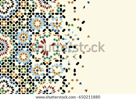 stock-vector-morocco-disintegration-template-islamic-mosaic-abstract-background