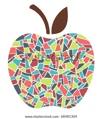 mosaic apple