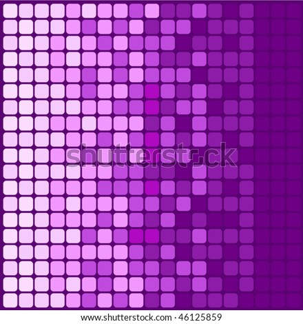 Mosaic background card vector illustration