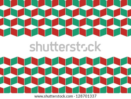 Mosaic design template, abstract background vector.