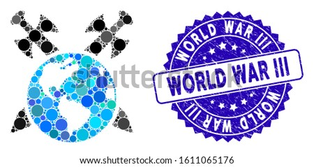 mosaic earth swords icon and