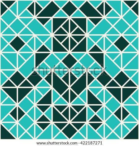 mosaic geometric pattern