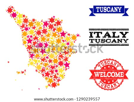 Map Of Italy Tuscany Region.Tuscany Map Download Free Vector Art Stock Graphics Images