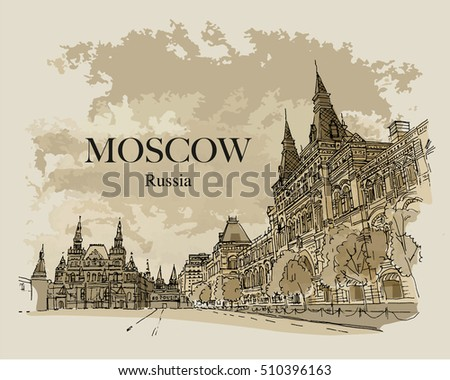 moscow  russia  historical