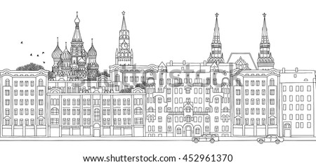 moscow  russia   seamless