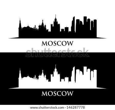 moscow skyline wallpaper
