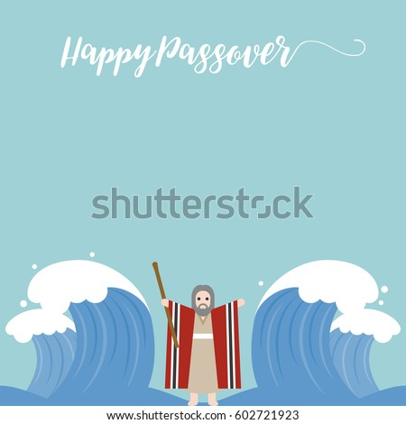 moses separate sea for passover
