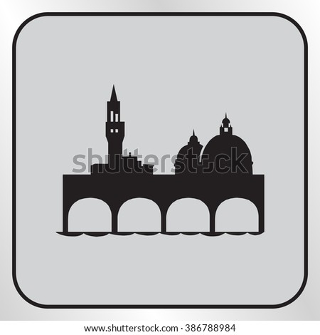 Mosque for the worship of Allah, vector illustration. Flat design style