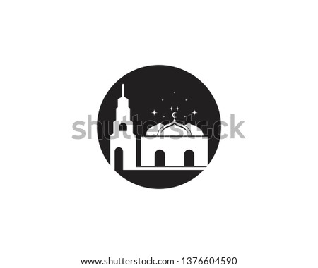 Mosque icon vector illustration