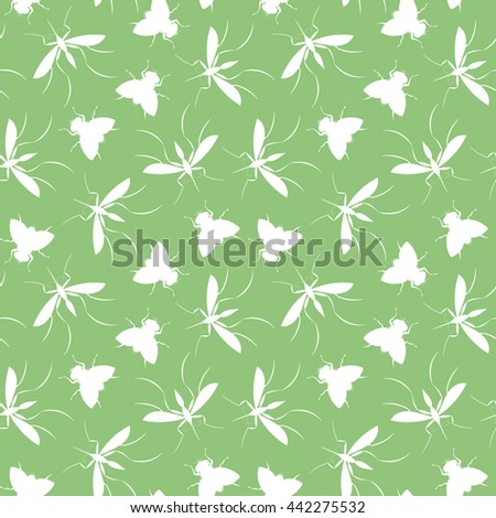 mosquitoes and flies pattern