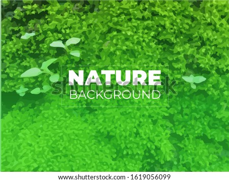 moss vector background natural