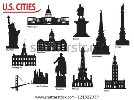 Most Famous Buildings U.S. cities