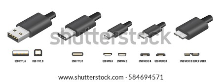 most of standart usb type a  b