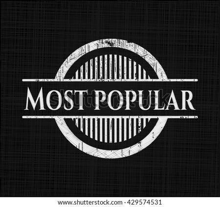 Most Popular on chalkboard