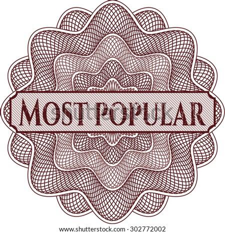 Most Popular rosette