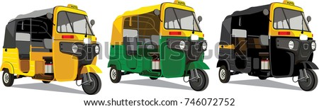 Shutterstock Most Popular transport in India Auto