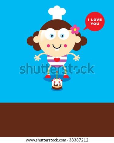Mother Birthday Card Stock Vector 38387212 : Shuttersto