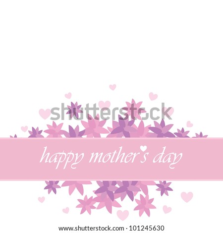 mother's day card for invitation, background, banners and others